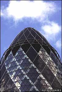 London's landmark Gherkin building