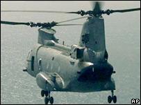 طائرة سي اتش 46 تشينوك العمودية