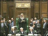 Mister Speaker, Bernard Weatherill
