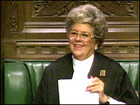 Madam Speaker, Betty Boothroyd