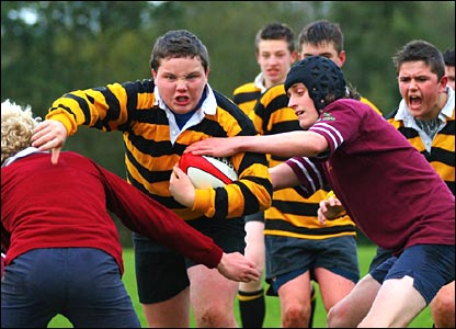 Terry McCartney's player on the charge