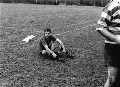 Emslie Law's sad rugby player