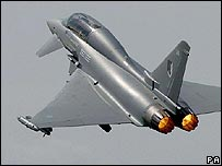 Eurofighter jet