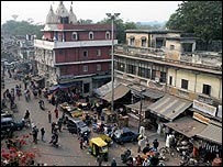 Delhi's Paharganj market district