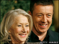 Peter Morgan with Helen Mirren