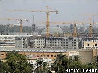 Cranes in Baghdad
