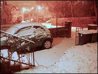 Snow in Cardiff (Pic Dave Jones)