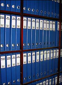 Files at Borneo's Orangutan Survival Foundation