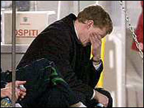 Steve Staunton after San Marino's equaliser on Wednesday night