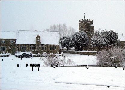 Village church in Ducklington