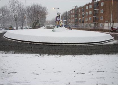 Hoxton roundabout