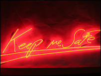 Keep Me Safe by Tracey Emin