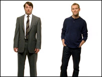 Mitchell and Webb as PC and Mac