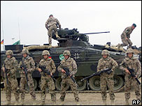 German soldiers in Afghanistan