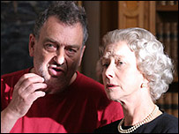 Director Stephen Frears and Helen Mirren