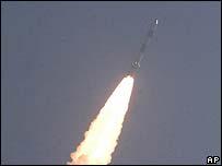 Indian SE-1 space rocket