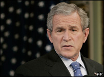 George W. Bush, presidente de Estados Unidos