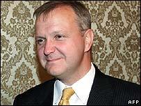 EU Enlargement Commissioner Olli Rehn