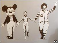 Imagen de cuadro de Banksy