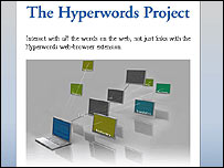 Hyperwords website