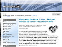 Movie Profiler.com website