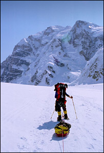 Denali expedition (Pic: Ian Dawson)