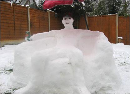 Ed the snowman