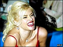 Anna Nicole Smith in Los Angeles in February 2005