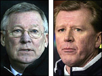 Sir Alex Ferguson and Steve McClaren