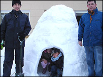 Igloo in Pentrebach