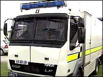 Army bomb disposal vehicle