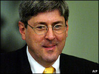 Former US undersecretary of defence Douglas Feith in a 2004 file photo