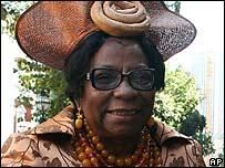 Adelaide Tambo (file photo 2006)