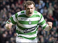Craig Beattie was on target for Celtic
