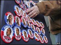 Obama badges