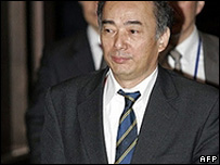 Japanese delegate Kenchiro Sasae