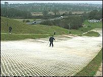 The ski centre in Suffolk