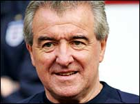 England assistant manager Terry Venables