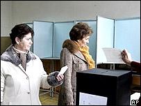 Votantes en Portugal