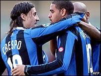 Crespo y Adriano.