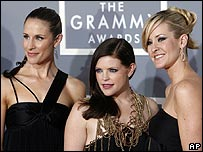 The Dixie Chicks at the Grammy Awards