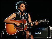 Corinne Bailey Rae at the Grammy Awards