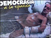 Poster of Jose Ignacio de Juana Chaos