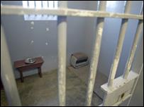 Nelson Mandela's cell at Robben Island