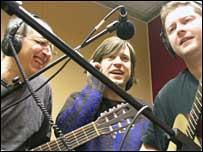Adam Long, Simon Jermond and Mikey O'Connor