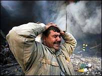 Bombing aftermath