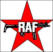 Logotipo de Baader-Meinhof o  Fracción del Ejército Rojo