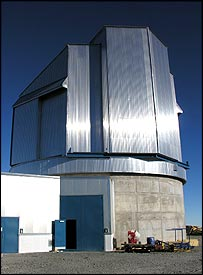 Vista telescope   Image: BBC/Paul Rincon
