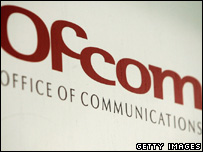 Ofcom nameplate, Getty