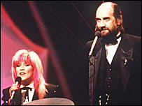 Samantha Fox and  Mick Fleetwood